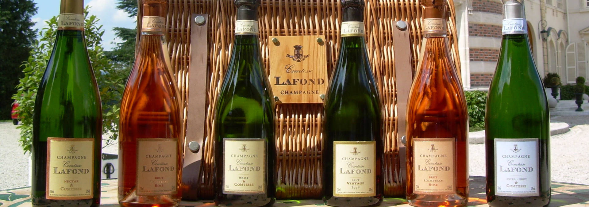 Tasting at the Showroom Comtesse Lafond