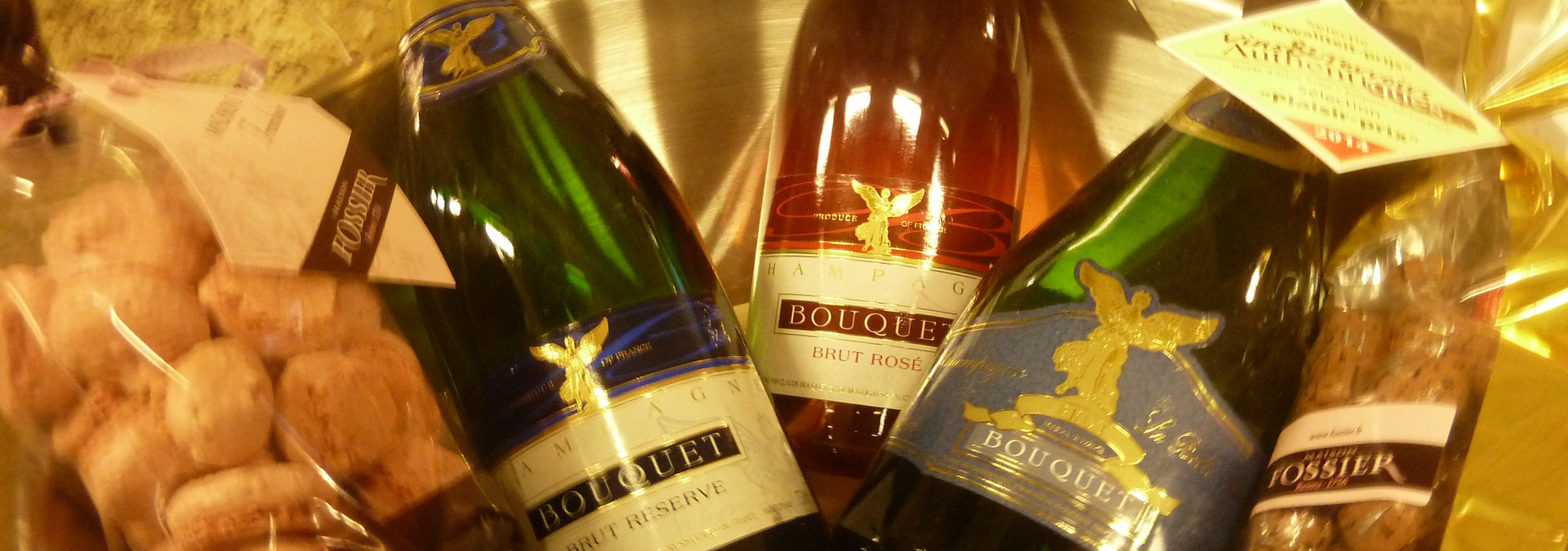 Discovering Bouquet Champagne